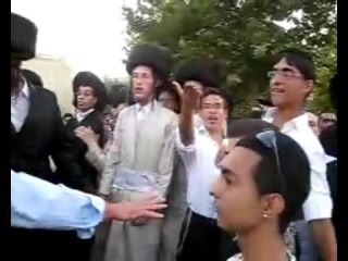 Ultra-Orthodox Jews vs. Gay People -- Israel
