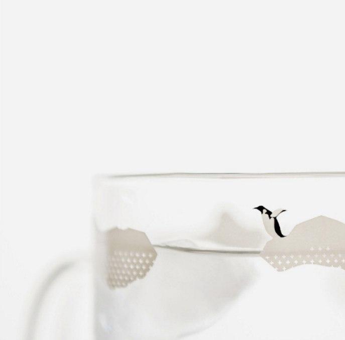 Очаровательные стеклянные чашки -