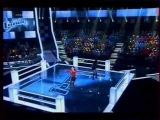Шоу Голос Ангелина Сергеева и Румия Ниязова - Hightway to hell ACDC cover