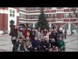 Новогоднее о поздравление жителей Якутии из Китая