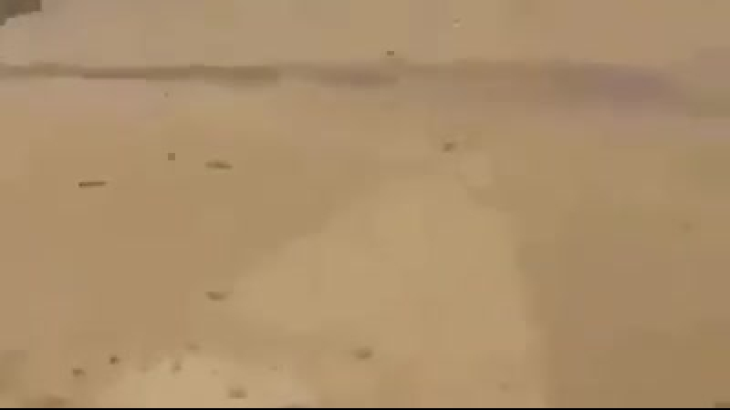 Уничтожение Шахид мобиля ИГ из вертолета