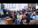Школьная линейка в киевской школе превратилась в  русофобство .  Москалив на ножи. потерянное поколение хохломразей