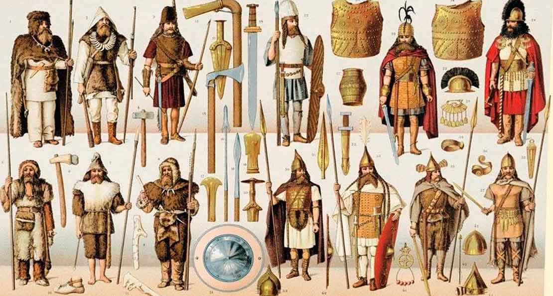 Вооружение древних германцев