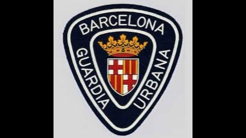 Guardia Urbana de Barcelona contra top Manta