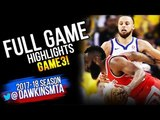 Golden State Warriors vs Houston Rockets Full Game Highlights Game 3 | 2018 WCF | May 20 2018
