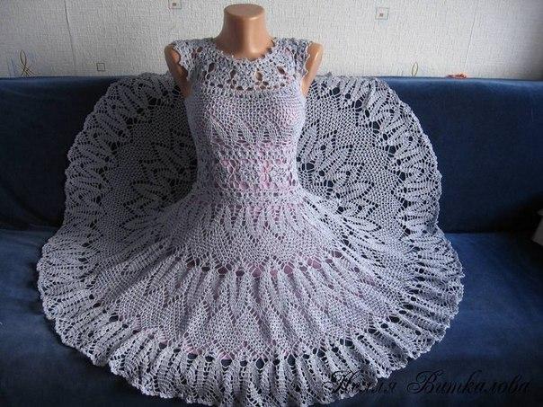 Платье. Автор Нелля Виткалова (9 фото) - картинка