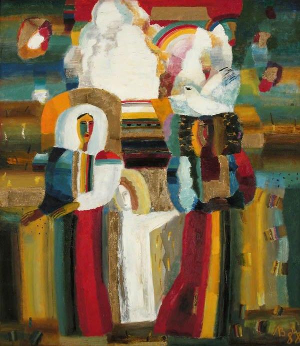 Литвинова З.В. Цветение. 1988