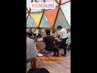 Мастер-класс Дмитрия Прудецкого. #suncamp #sundrumsfest
