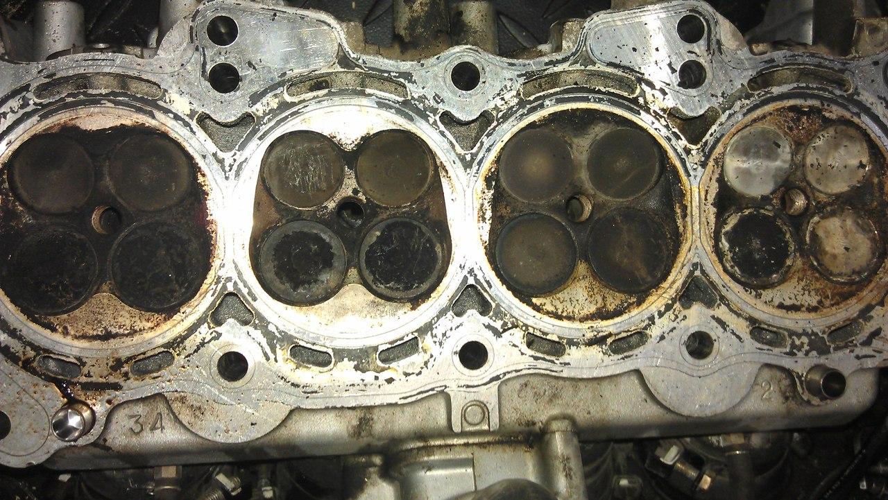 стуканул двигатель мотоцикла honda