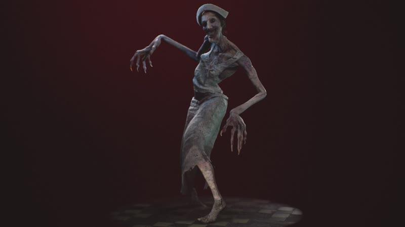 Nurse for VR horror