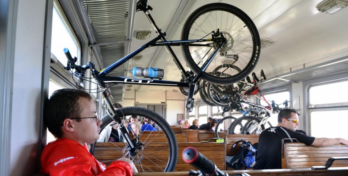 Велосипед всё же придётся разбирать при перевозке в поезде
