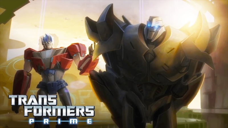 Transformers Prime - The Origin Story of Optimus Prime Megatron
