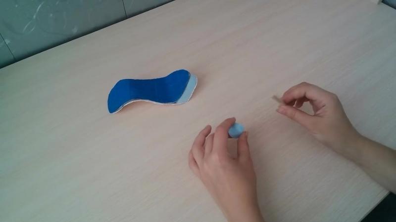 Как сделать туфельку своими руками, мастер класс