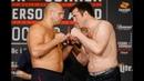 Fedor Emelianenko vs. Chael Sonnen Bellator 208 Weigh-In Staredown - MMA Fighting