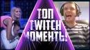 Удушающий на стриме Папич заигрался - Топ моменты с Twitch