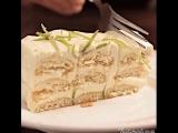 Лимонный <<мусс-торт>> с печеньем