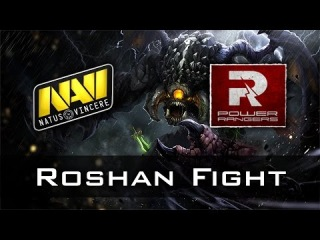 Na'Vi vs PR Roshan Fight   Excellent Moscow Cup Dota 2