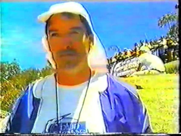 1985 Blue Stratus hang gliding clinic