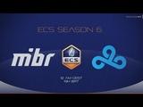MIBR vs Cloud9 ECS Season 6 North America Map 1 Mirage