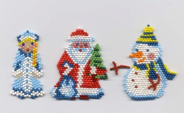 И вот такой Дед Мороз и