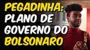 PEGADINHA COM ESQUERDISTAS: PLANO DE GOVERNO DO BOLSONARO | Felipe Ferreira e Felipe Lintz
