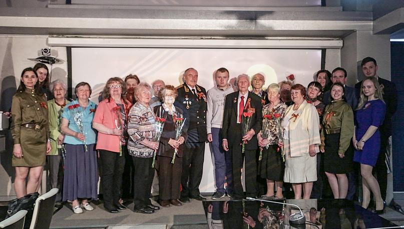 Кинокомпания «Союз Маринс Групп» поздравила ветеранов Великой Отечественной войны с Днем Победы