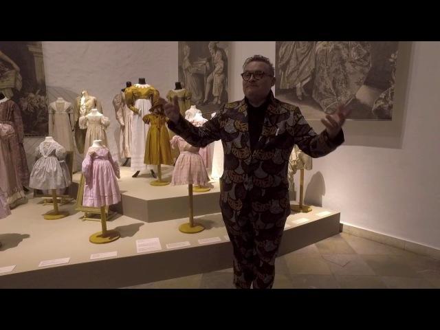 Aleksandra Vasiļjeva ekskursija izstādē Bērnu mode. 18.-20. gadsimts (krievu valodā)