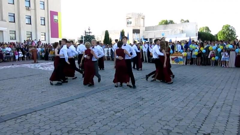 Потрясающий вальс выпускников Лицей Славутич 2017