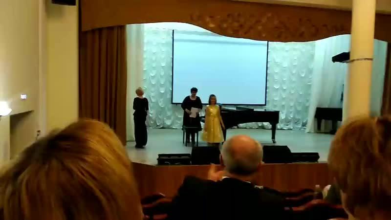 Мария 8 лет соло, Счастливая, концерт Голоса Сургута