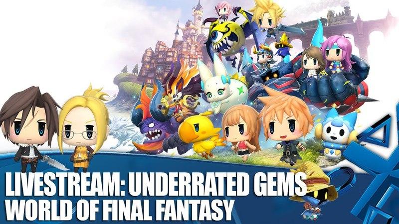 PS4\PSV - World of Final Fantasy