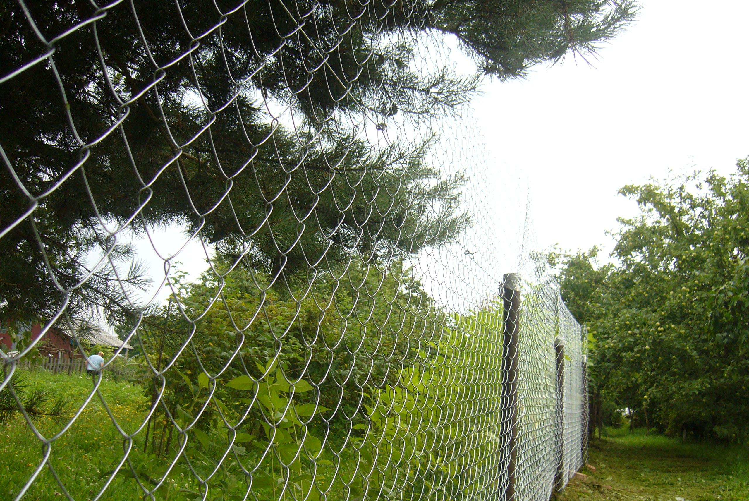 Как мы ставили забор. Часть вторая. беларусь