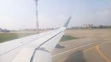 S7 airline take off IRKUTSK - SEOUL(INCHEON)