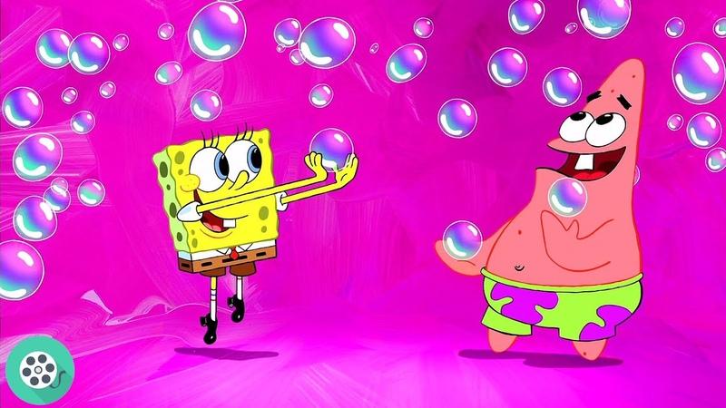 Вечеринка мыльных пузырей Губка Боб квадратные штаны 2004 год