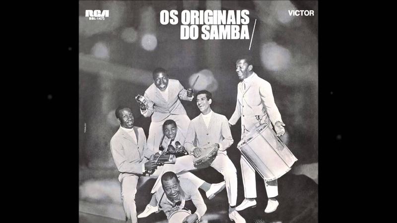 Os Originais do Samba - CANTO CHORADO - samba de Billy Blanco - gravação de 1969