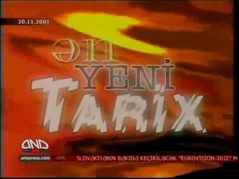 Ən Yeni Tarix Qarakənd faciəsi 2001 ANS