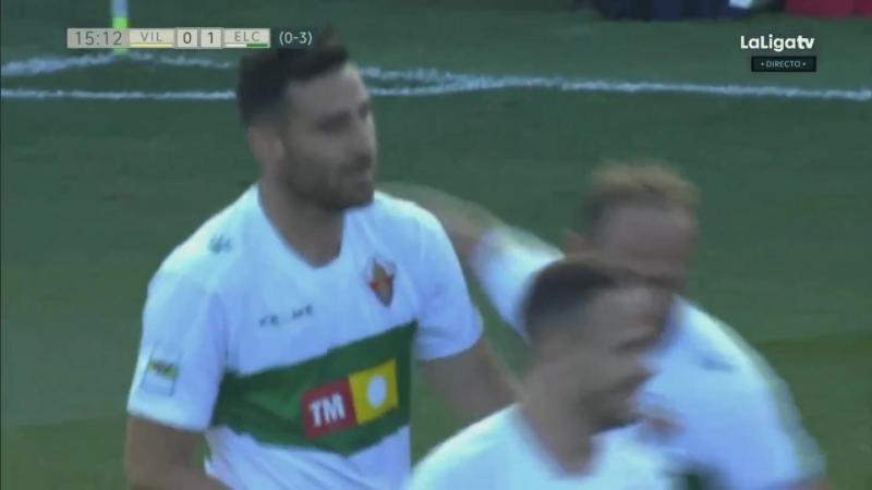 Вильярреал CF Б - Эльче CF, 0-1 (0-3 общий), гол Бенха Мартинеса, голевая Ивана Санчеса