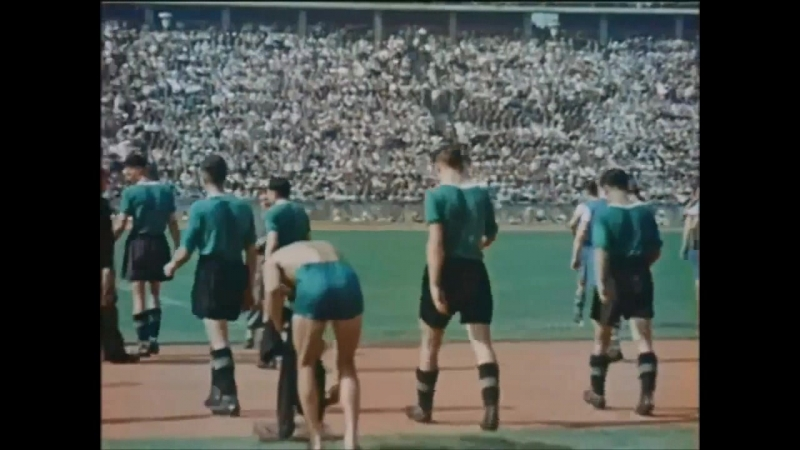 Берлин. Олимпийский стадион. Финал чемпионата Германии по футболу Рапид - Шальке 04...22 июня 1941 года