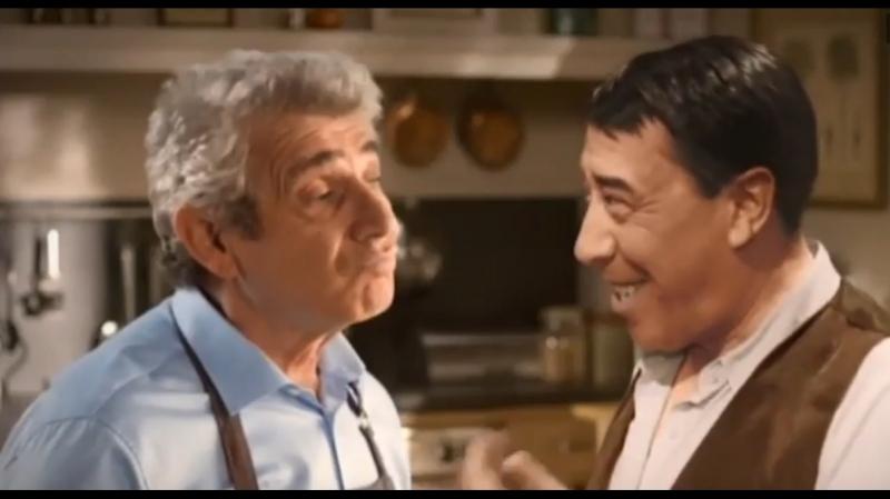 Фернандель в рекламе Puget