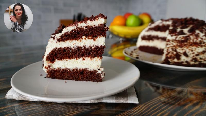 Шоколадный Торт «Чёрный Принц». Супер-торт!