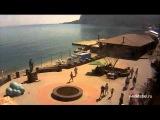 Веб камера Коктебель площадь Волошина 1 мая
