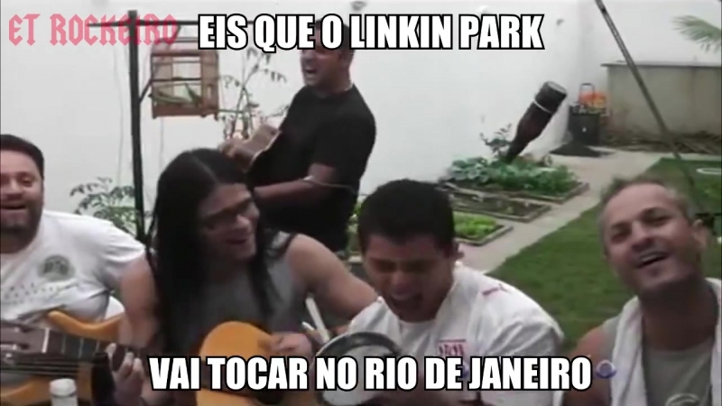 Eis que o Linkin Park vai tocar no Rio de Janeiro