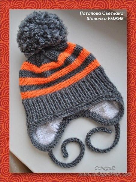 Вяжем шапочки для деток.