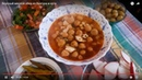 Вкусный мясной обед из Булгура и нута