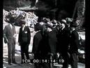 Mussolini visita l'area archeologica di Torre Argentina a Roma
