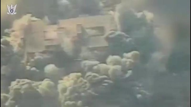 «Watch IAF aircraft attack a multi-story building in Al-Shati Camp צפו תקיפת מבנה רב קומות במחנה הפ
