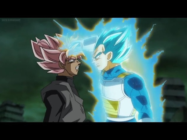 Vegeta VS Goku Black (Rematch) | Dragon Ball Super Episode 63 (English Sub)