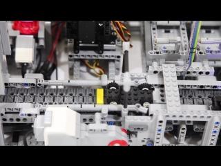 Lego фабрика по производству автомобилей