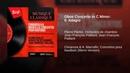 Oboe Concerto in C Minor: II. Adagio
