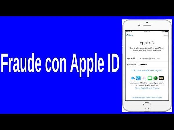 Fraude Apple ID