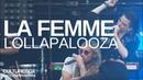 La Femme - Live @ festival Lollapalooza Paris 2017